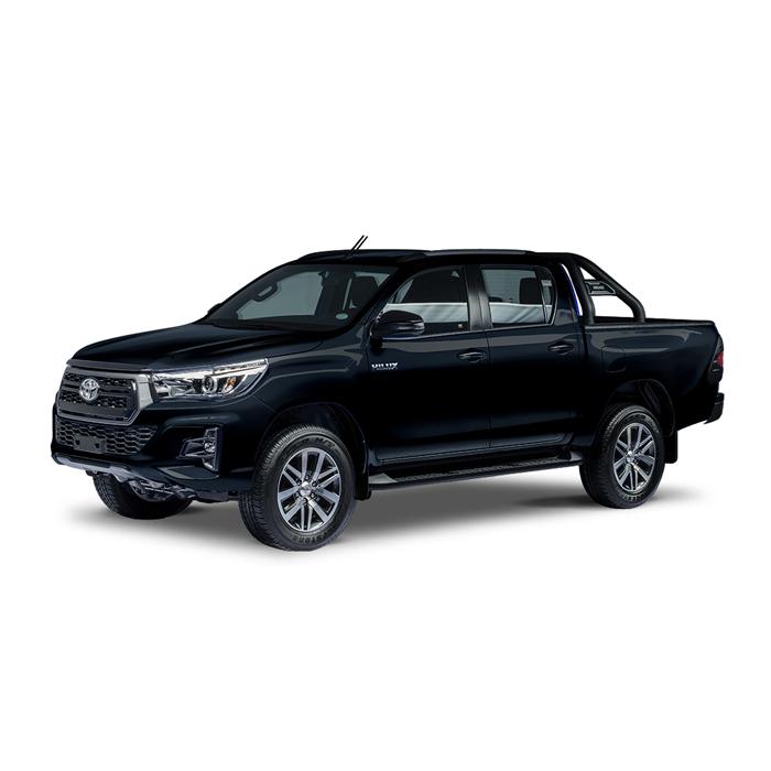 Toyota Hilux Conquest Attitude Black Mica