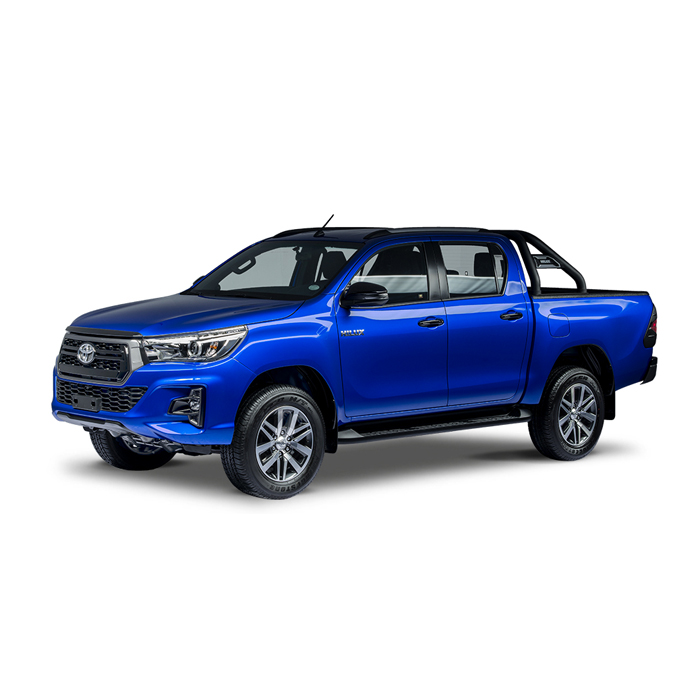 Toyota Hilux Conquest Nebula Blue Metallic