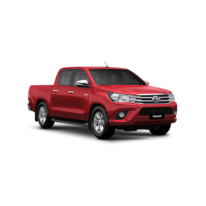 Toyota Hilux Crimson Spark Red Metallic