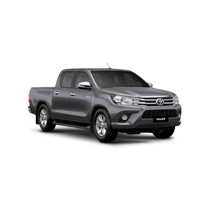 Toyota Hilux Gray Metallic