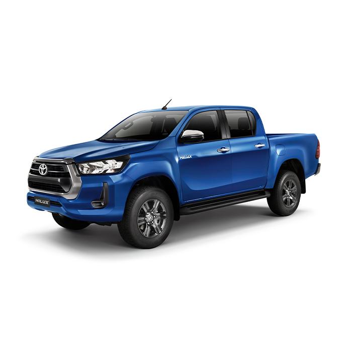 Toyota Hilux Nebula Blue Metallic