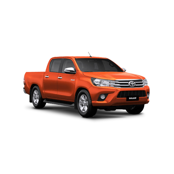 Toyota Hilux Orange Metallic