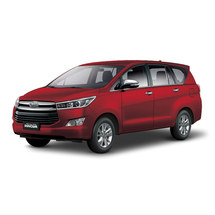 Toyota Innova Red Mica Metallic