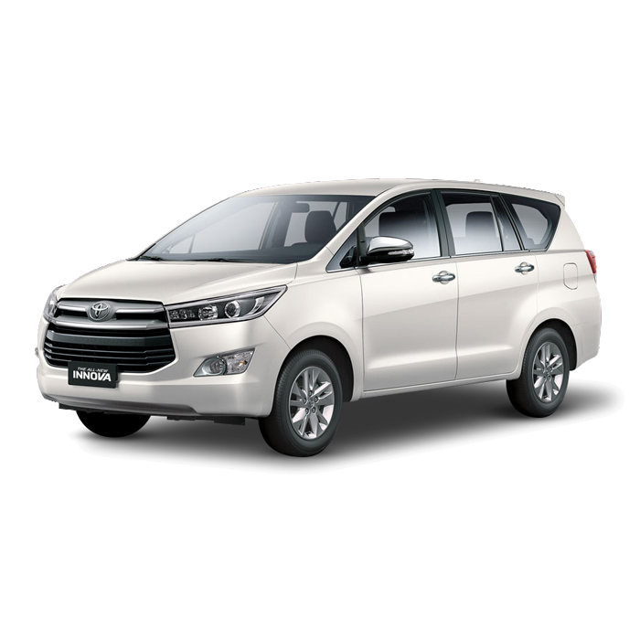 Toyota Innova White Pearl