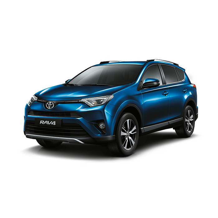 Toyota Rav4 Blue Metallic