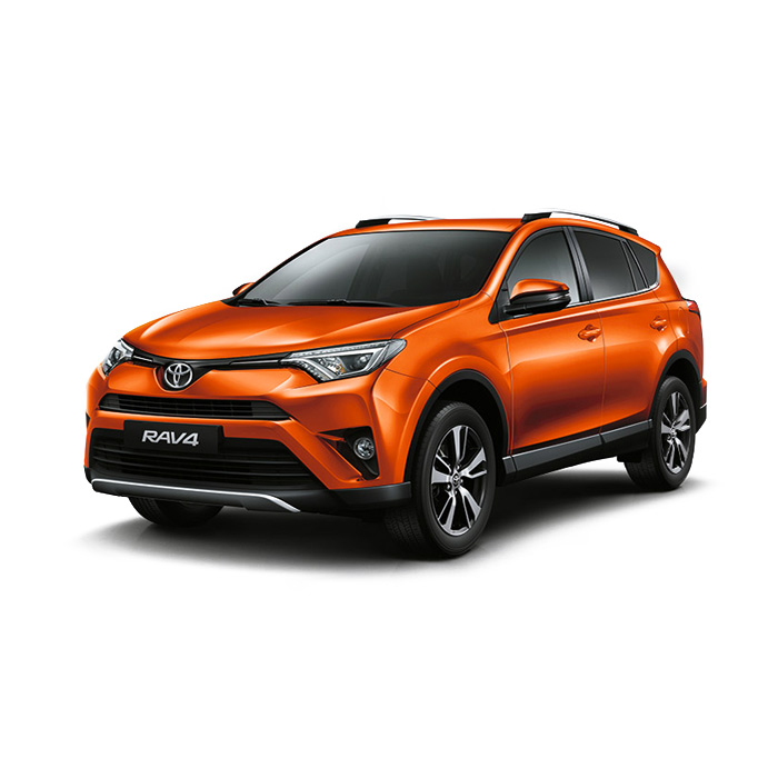 Toyota Rav4 Orange Metallic