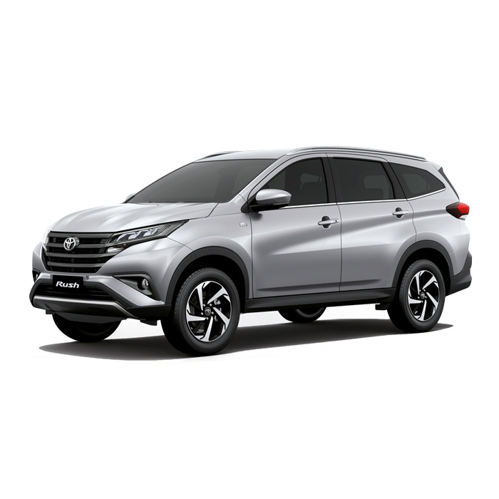 Toyota Rush Silver Mica Metallic