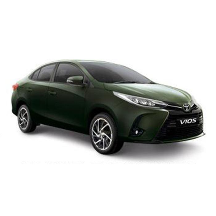 Toyota Vios Alumina Jade Metalic