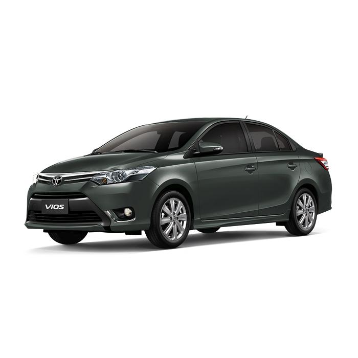 Toyota Vios Alumina Jade Metallic