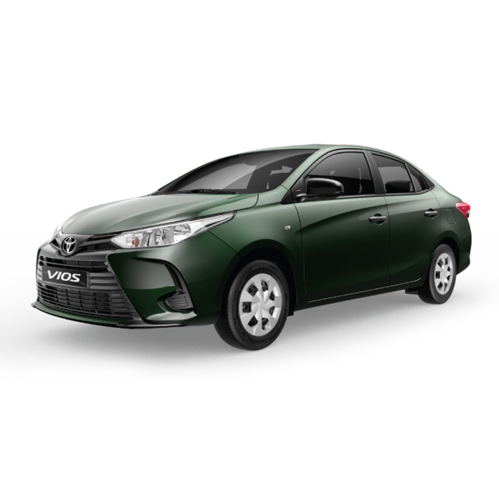 Toyota Vios Alumina Jade Metallic J model