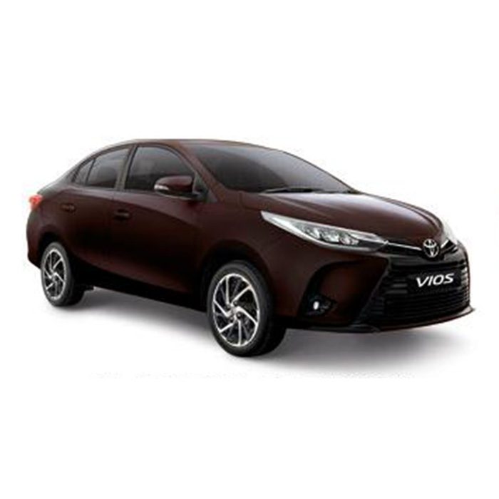 Toyota Vios Blackish Red Mica