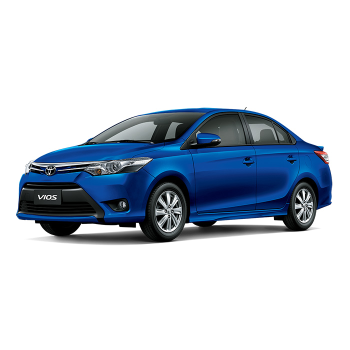 Toyota Vios Blue Mica Metallic