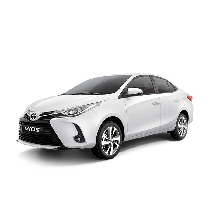 Toyota Vios Freedom White