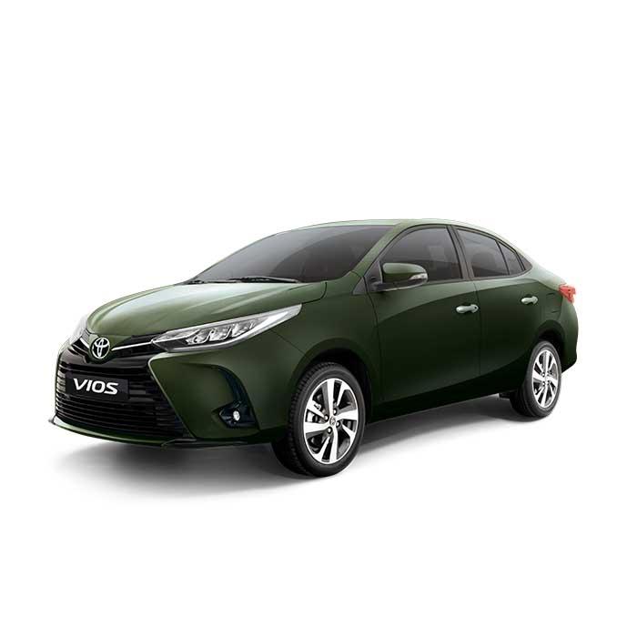 Toyota Vios Jade Metallic