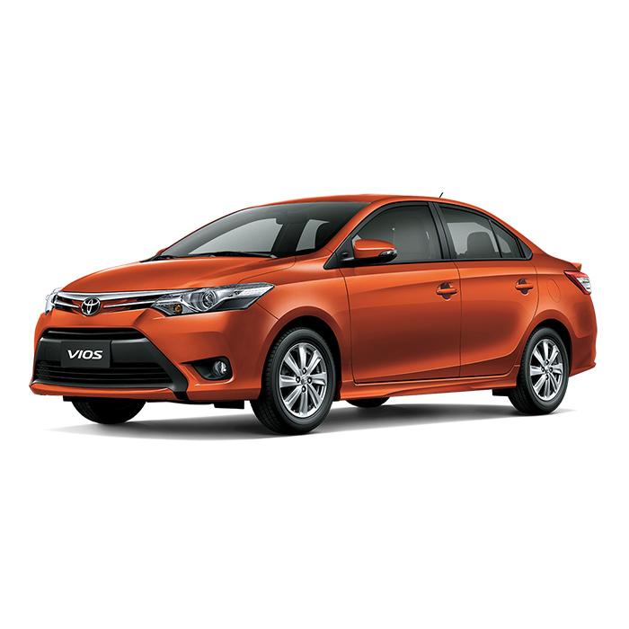 Toyota Vios Orange Metallic