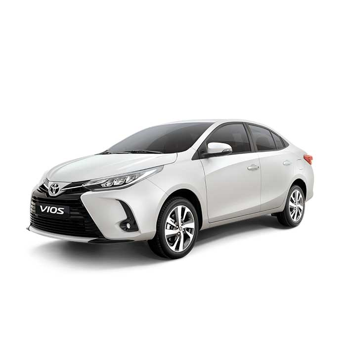 Toyota Vios Pearl White