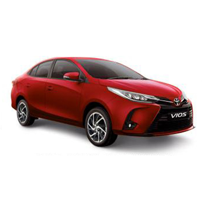 Toyota Vios Red  Mica Metallic update