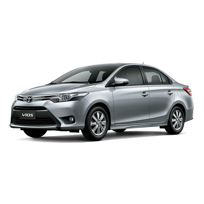 Toyota Vios Silver Metallic