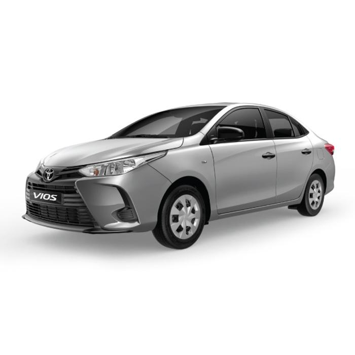 Toyota Vios Silver Metallic J model