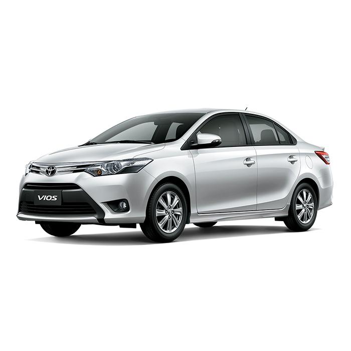Toyota Vios White Pearl