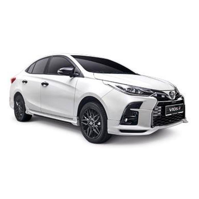 Toyota Vios White Pearl Crystal Shine GR-S