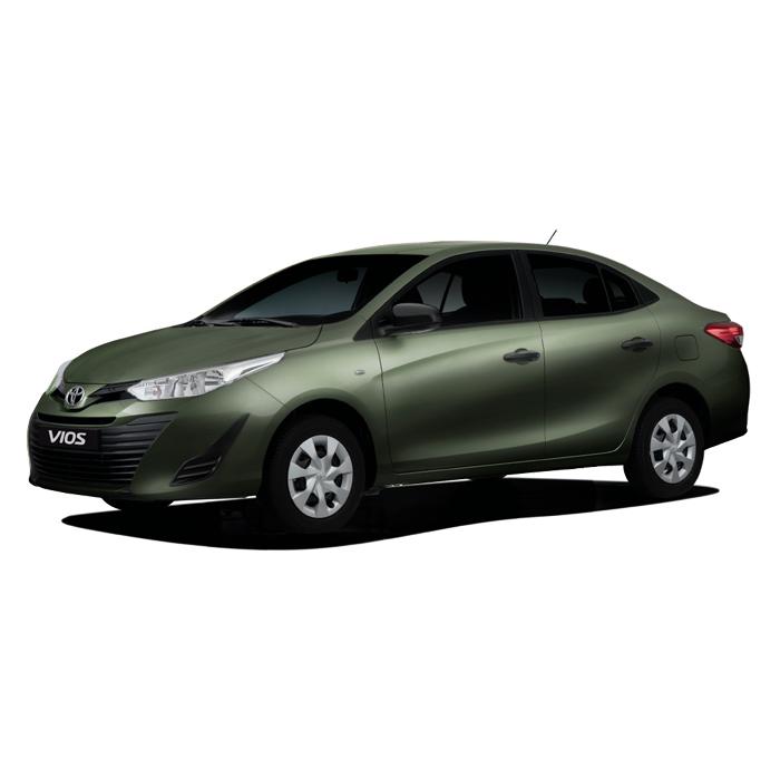 Toyota Vios XE J Alumina Jade Metallic Philippines