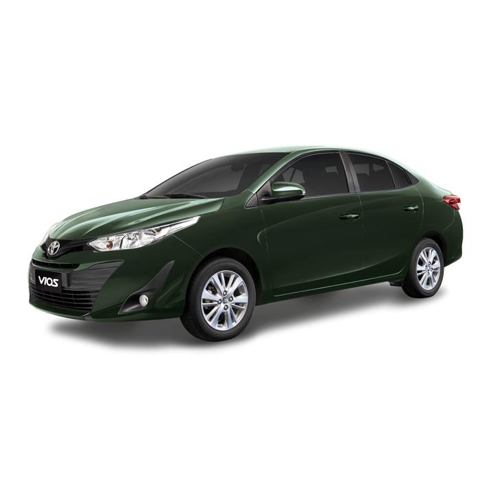 Toyota Vios XLE Alumina Jade Metallic Philippines