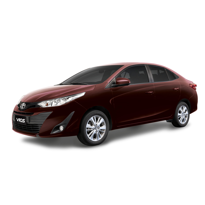 Toyota Vios XLE E Blackish Red Mica Metallic Philippines