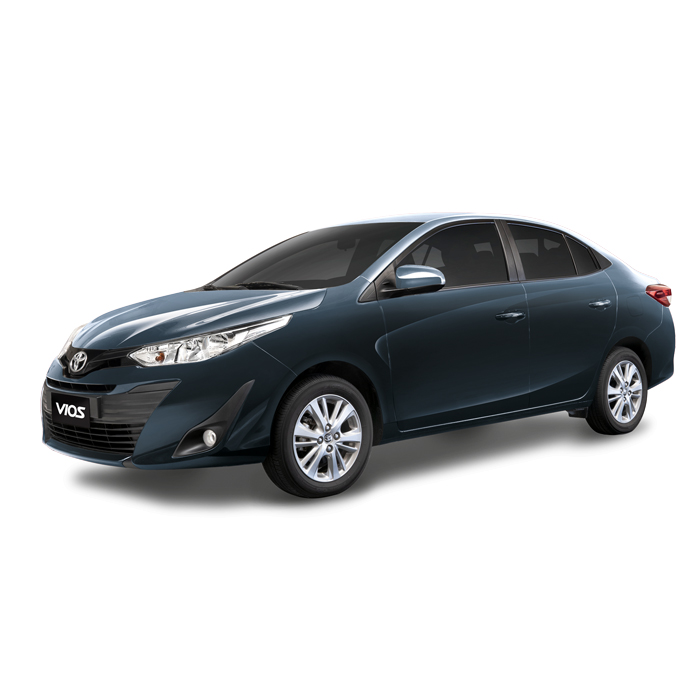 Toyota Vios XLE Grayish Blue Mica Metallic Philippines