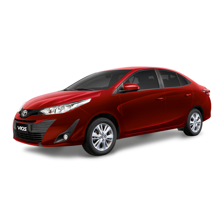Toyota Vios XLE Red Mica Metallic Philippines