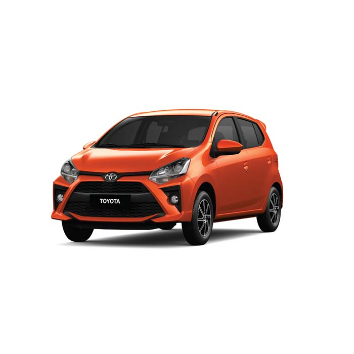 Toyota Wigo Orange Metallic Philippines