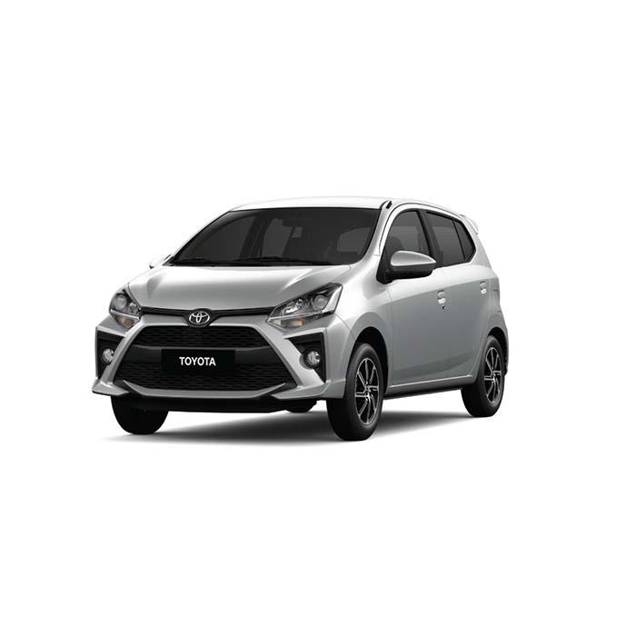 Toyota Wigo Silver Metallic philippines