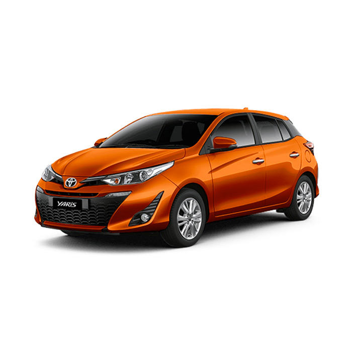 Toyota Yaris Orange Metallic