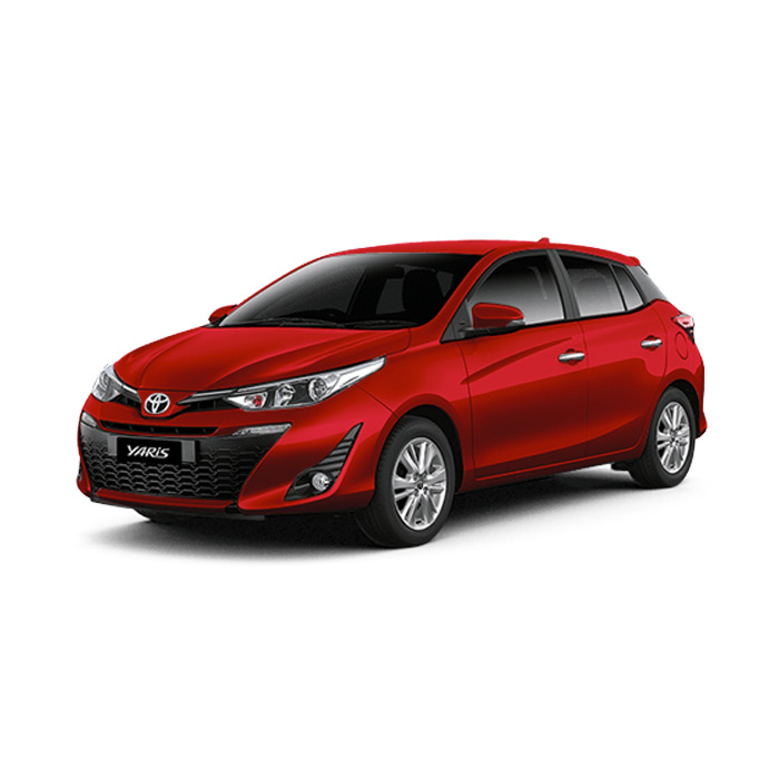 Toyota Yaris Red Mica Metallic