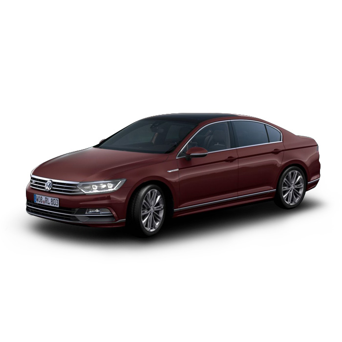 Volkswagen Passat Crimson Red