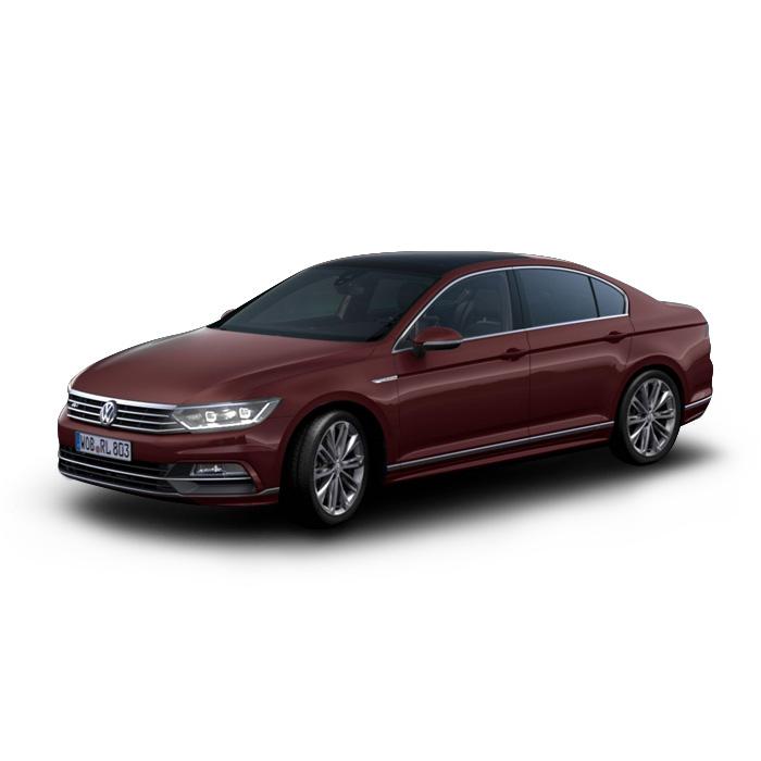 Volkswagen Passat Crimson Red