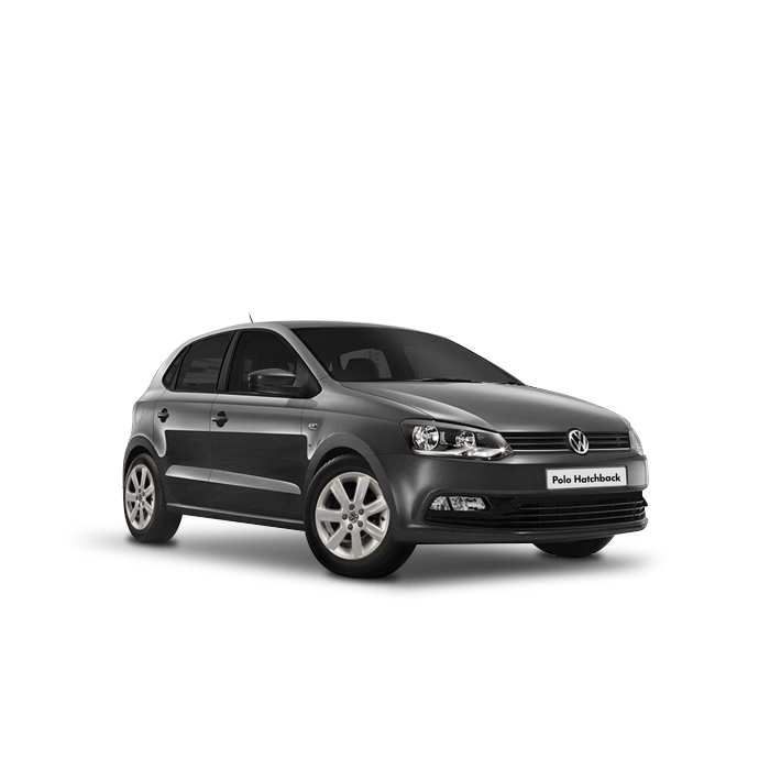 Volkswagen Polo Hatchback Carbon Steel Gray