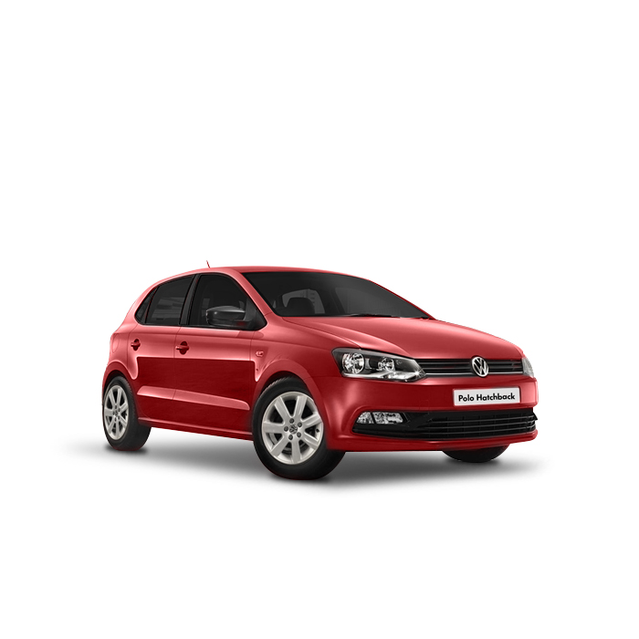 Volkswagen Polo Hatchback Flash Red