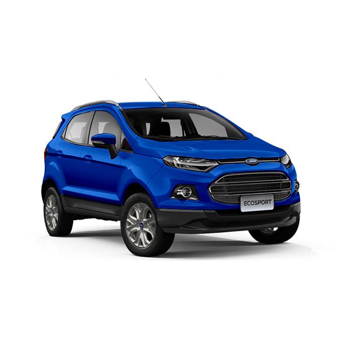 Ford EcoSport Winning Blue