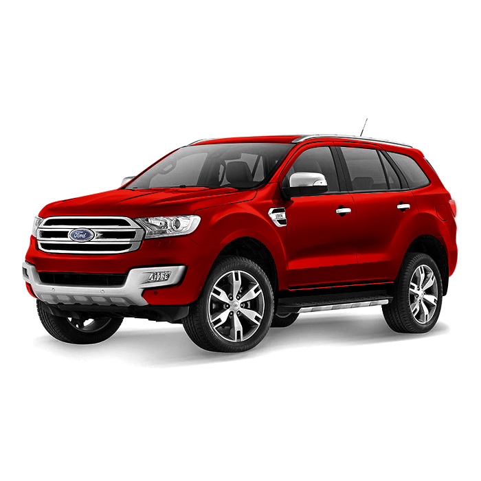 Ford Everest Sunset Red