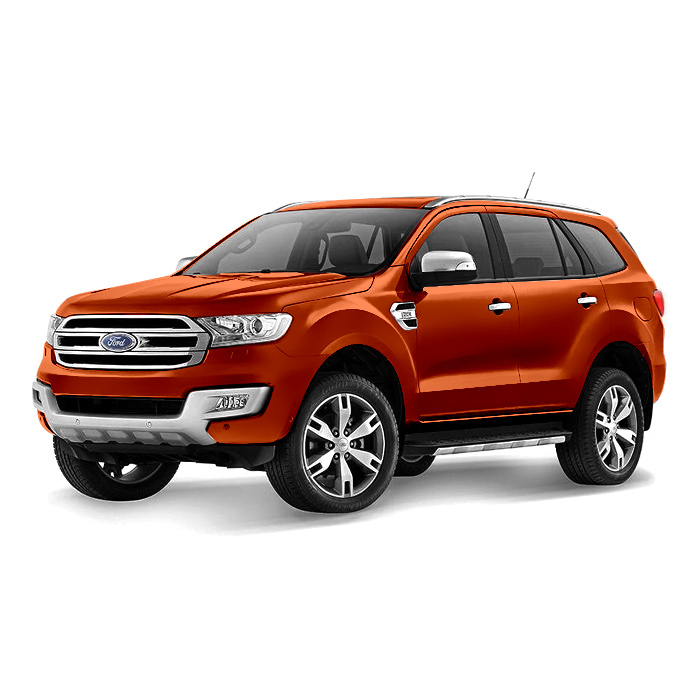 Ford Everest True Red