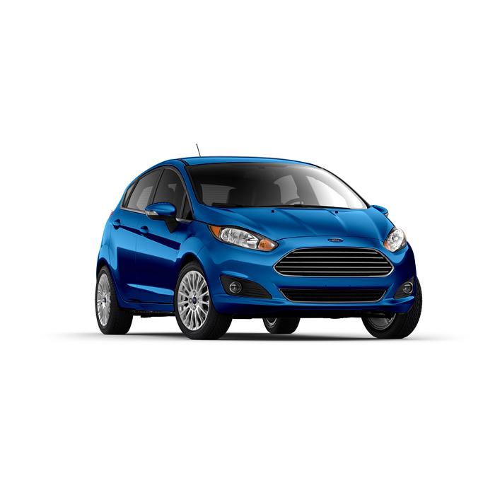 Ford Fiesta Hatchback Winning Blue