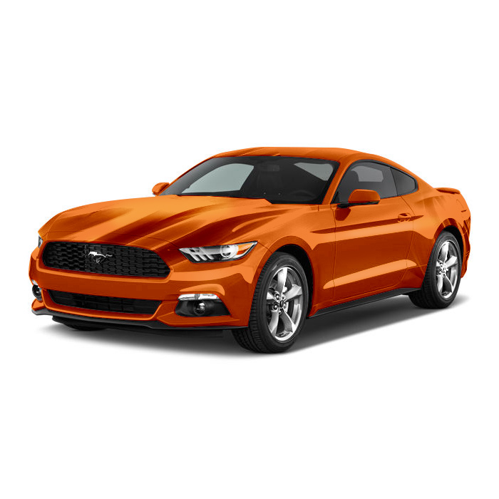 Ford Mustang Competition Orange