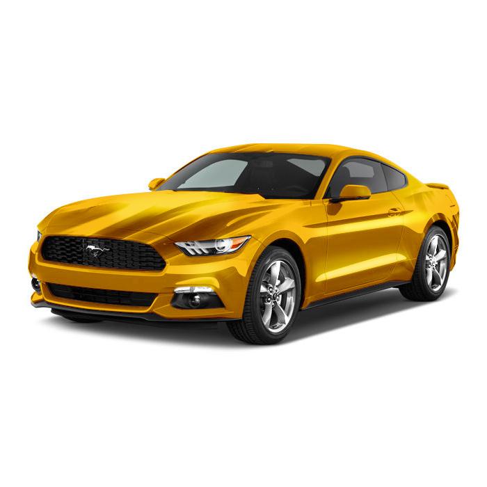 Ford Mustang Triple Yellow Tri Coat