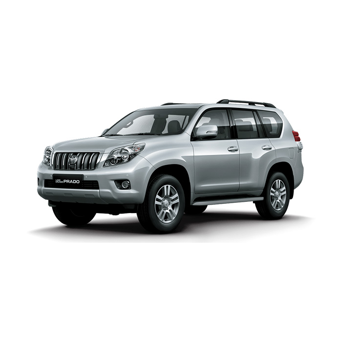 Toyota Land Cruiser Prado Silver Metallic