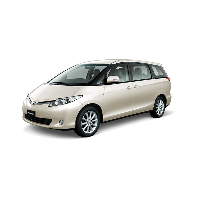 Toyota Previa White Pearl