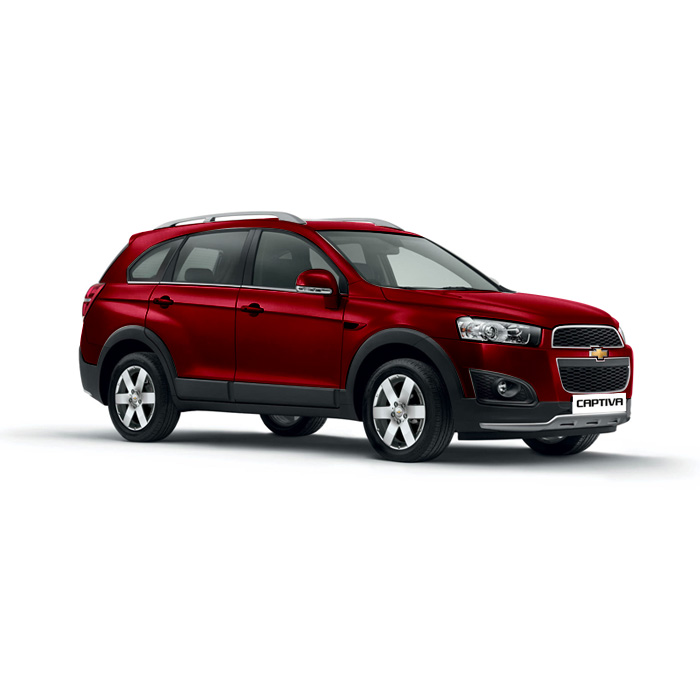 Chevrolet Captiva Crystal Red Tincoat