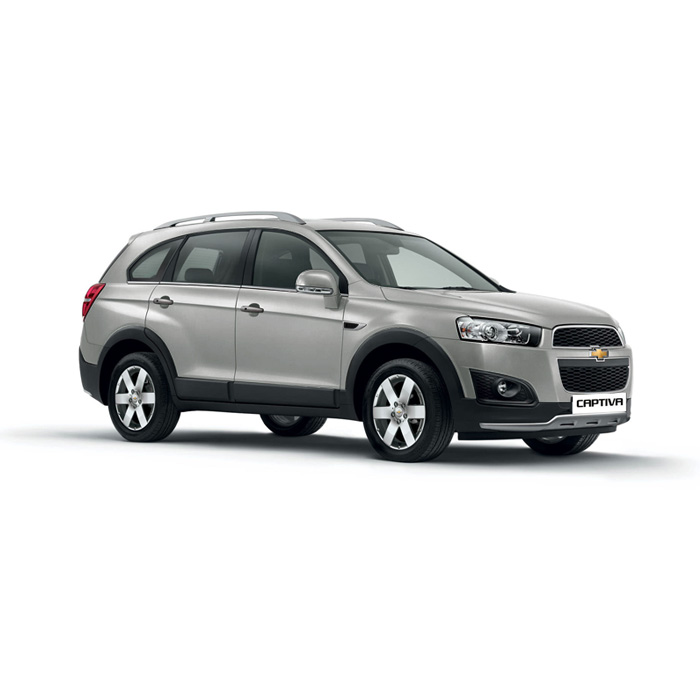Chevrolet Captiva Swith Blade Silver