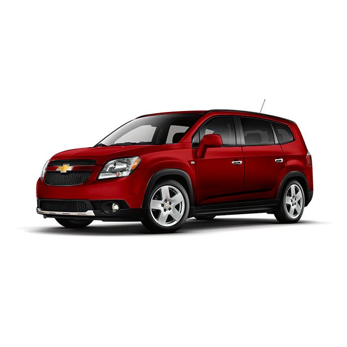 Chevrolet Orlando Velvet Red Metallic