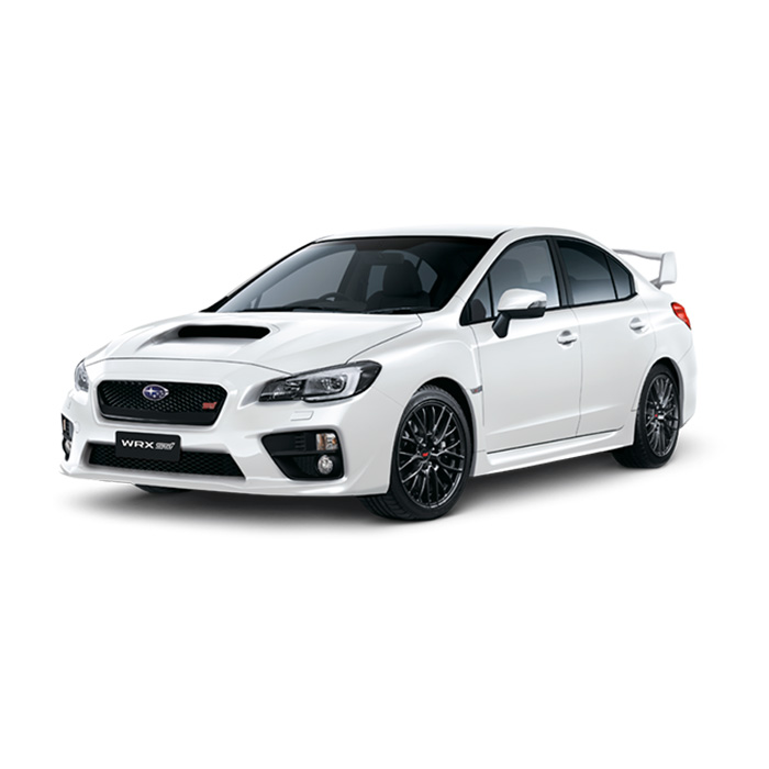 Subaru WRX STI Crystal White Pearl